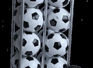 ballenkar voor 16 voetballen